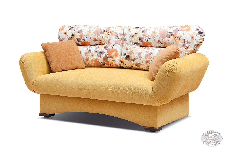 Желтая кушетка Летти фото